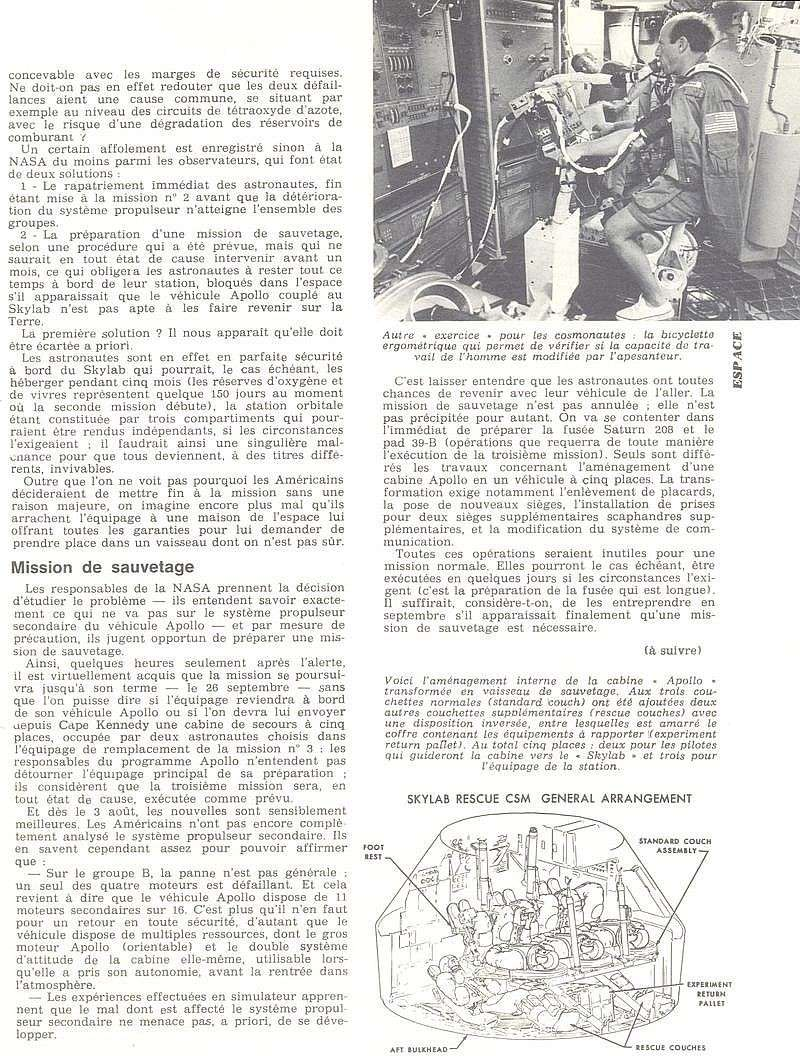 14 mai 1973 - Skylab - Seule station spatiale américaine - Page 2 73090812
