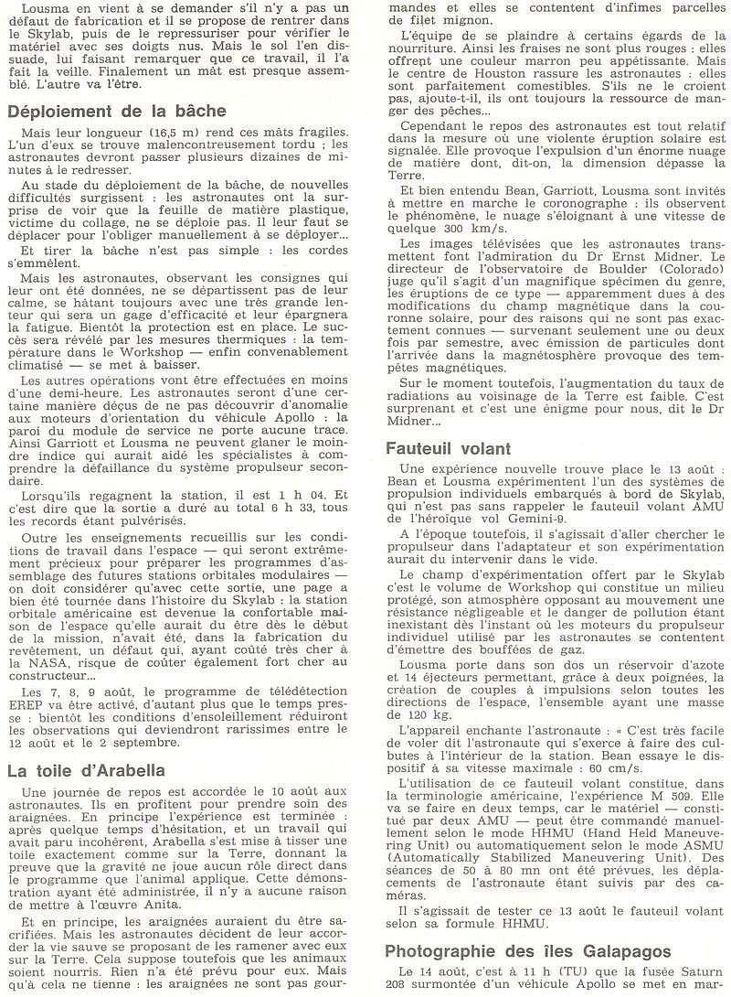 14 mai 1973 - Skylab - Seule station spatiale américaine - Page 2 73091511