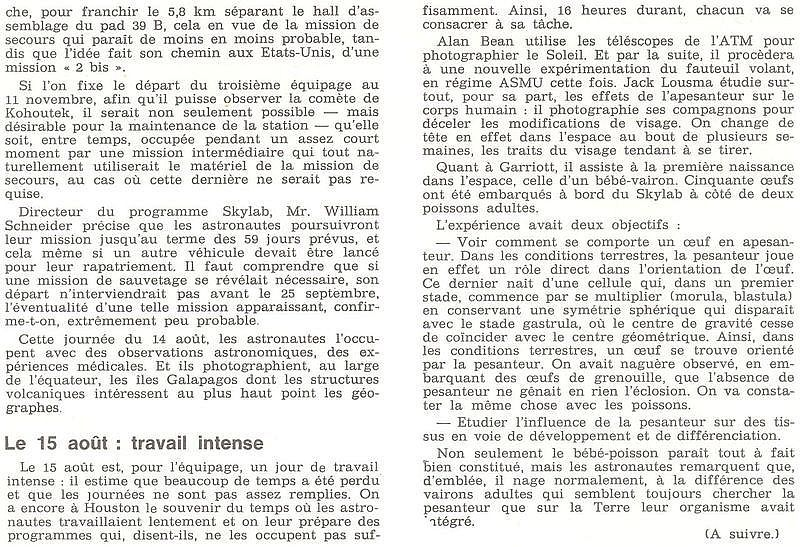 14 mai 1973 - Skylab - Seule station spatiale américaine - Page 2 73091512