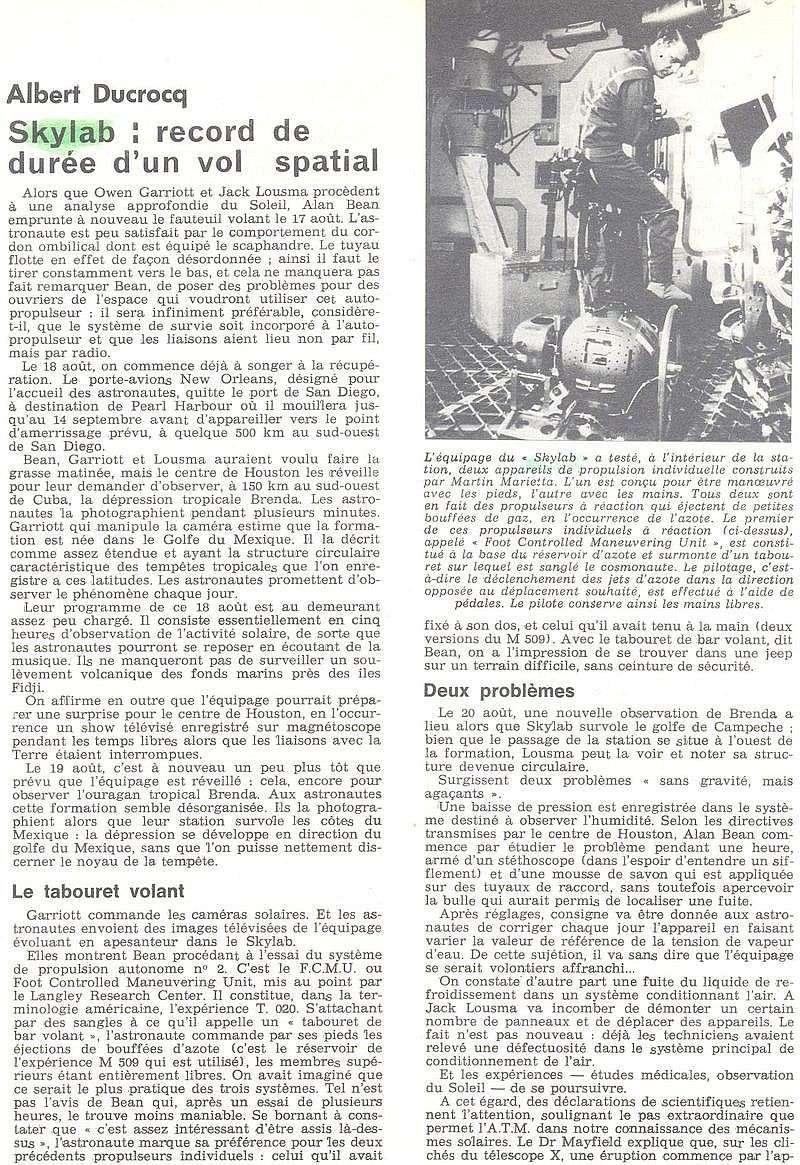 14 mai 1973 - Skylab - Seule station spatiale américaine - Page 2 73092210