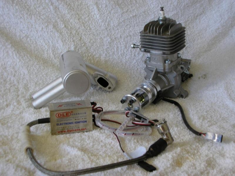moteur essence dle 30 + pot pitts Demont10