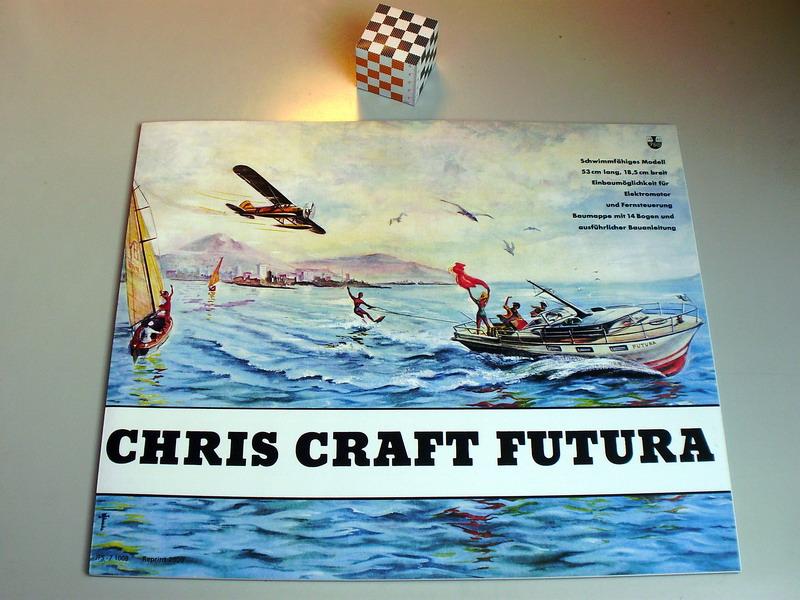 chris craft futura - Motorboot Chris-Craft Futura 1:20 (1959) Reprint Schreiber-Verlag (2009) Jfs_110