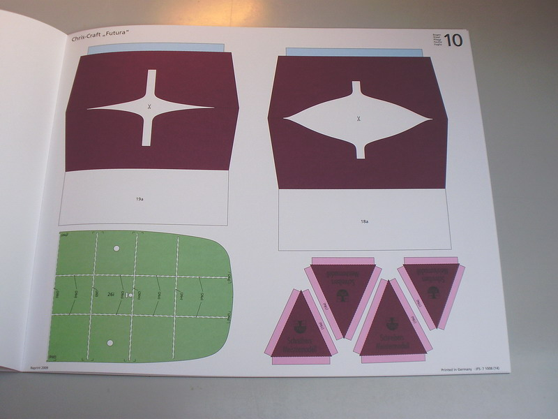 chris craft futura - Motorboot Chris-Craft Futura 1:20 (1959) Reprint Schreiber-Verlag (2009) Jfs_610