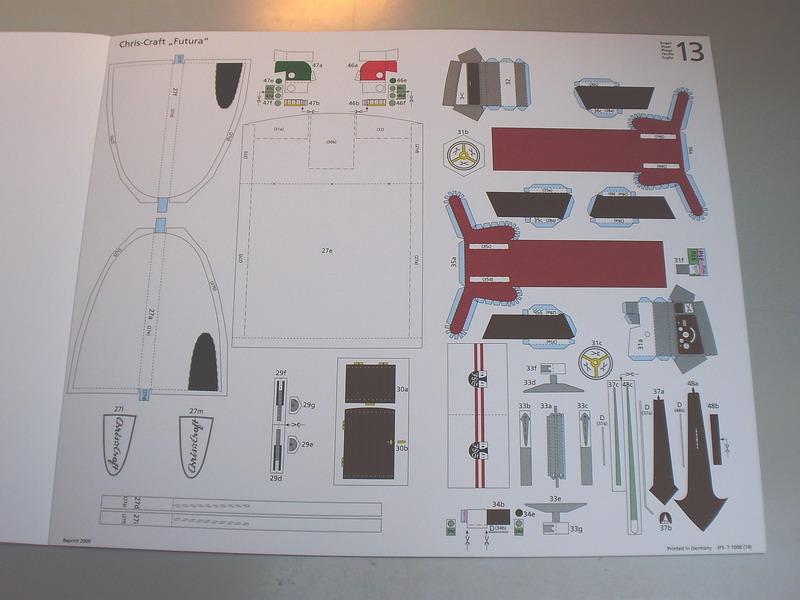 chris craft futura - Motorboot Chris-Craft Futura 1:20 (1959) Reprint Schreiber-Verlag (2009) Jfs_710