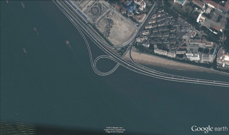 Autoroute sur pilotis, Xiamen - Chine Auto10