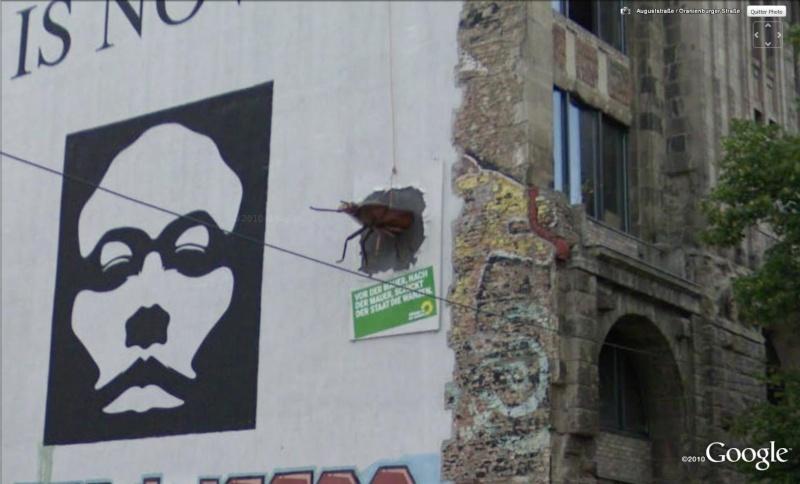 STREET VIEW : Blatte/ cafard Berlin Allemagne Blatte10
