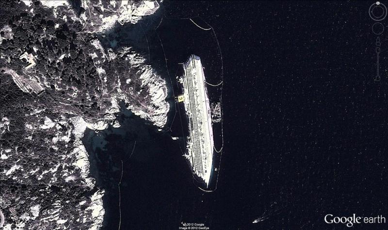 L'épave du Costa-Concordia. Un paquebot géant s'échoue en Italie - Page 3 Costa10