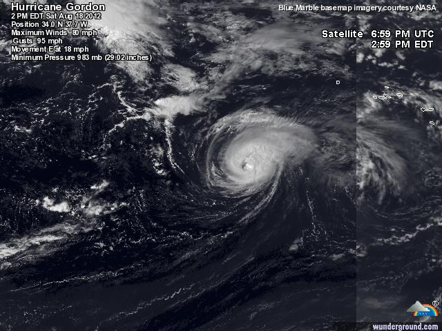 Météo et couverture nuageuse Cyclon10
