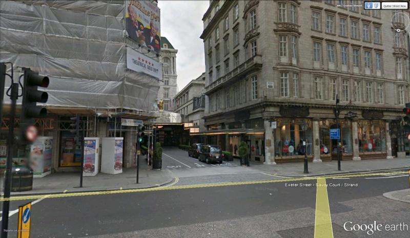 Une rue spéciale pour le Savoy Court, Londres - Angleterre Savoy10