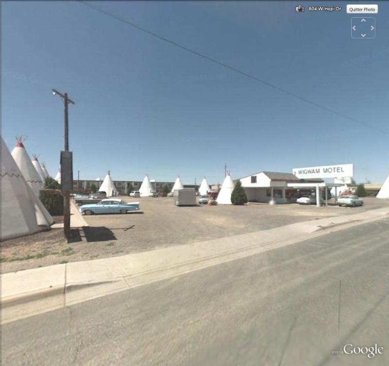 Wigwam Motel à Holbrook, Arizona - USA Wig110