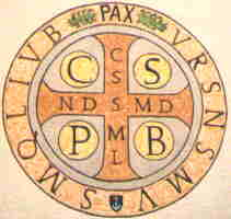 La médaille de Saint benoît Medail10