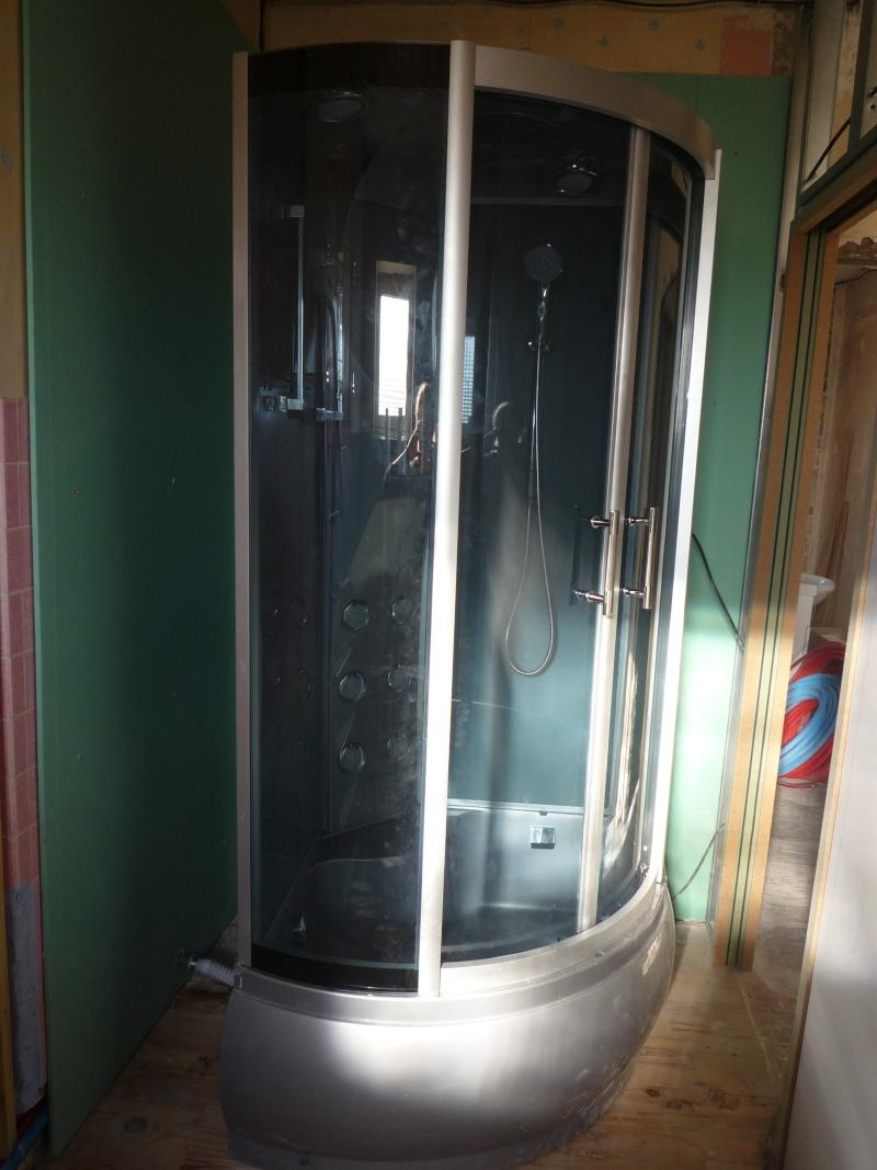 souci d etancheite d une cabine de douche  P1040511
