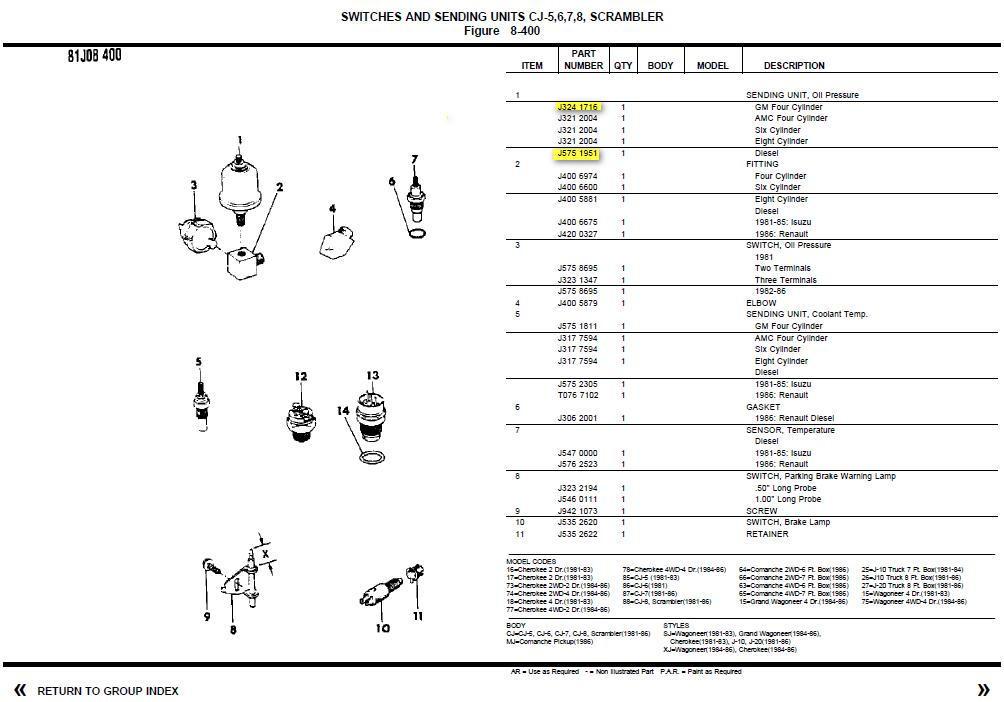 Quel sonde de pression d'huile pour CJ7 diesel ? Copie_10