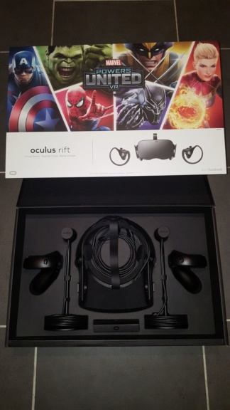 Vends Ocululs Rift + Touch Edition MARVEL 20190112