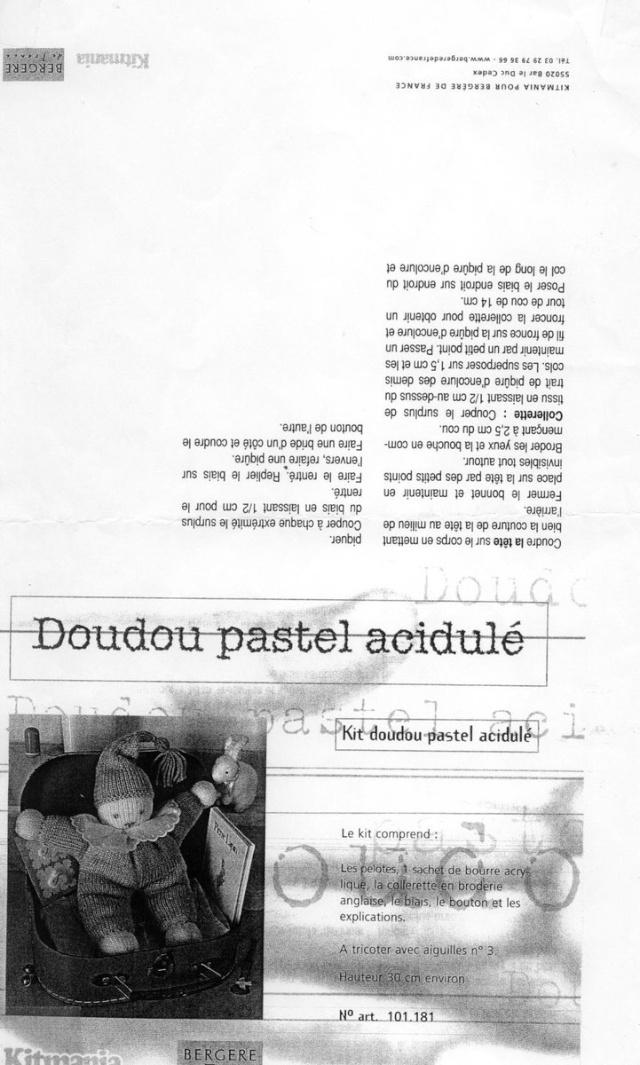 Doudou Pastel Doudou11