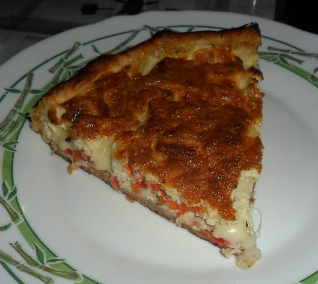 quiche tomate / mozzarella Quiche11