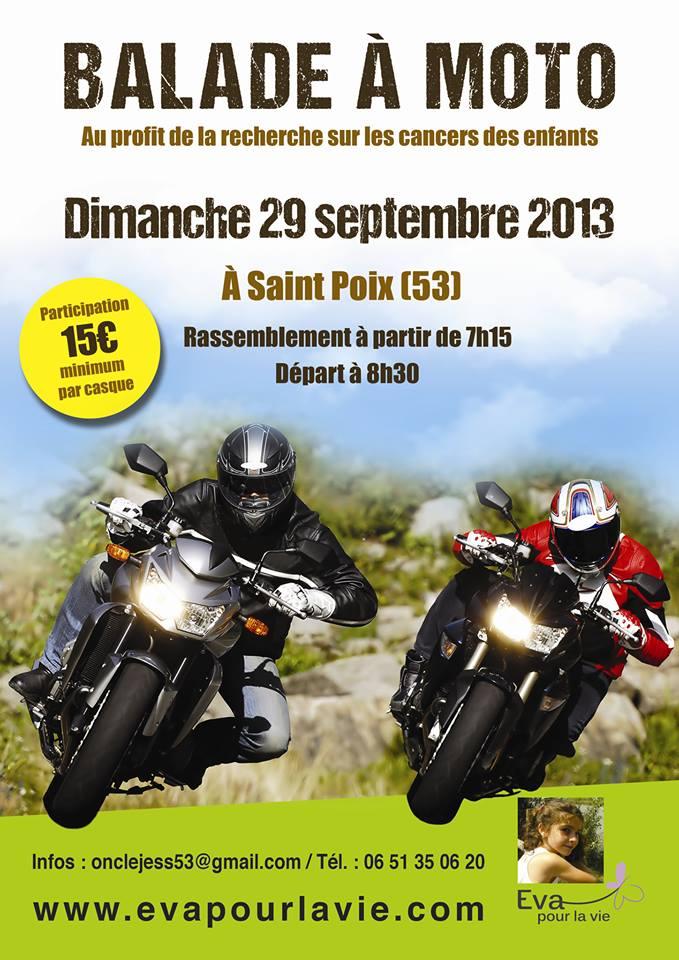 130929 , 29 septembre : Balade moto au profit de la recherche sur le cancer des enfants.. 69514_10