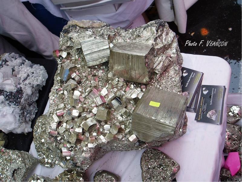 Sainte-Marie-aux-Mines 2013 : 50e anniversaire de la bourse minéralogique 1710