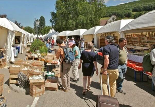 Sainte-Marie-aux-Mines 2013 : 50e anniversaire de la bourse minéralogique 1b10