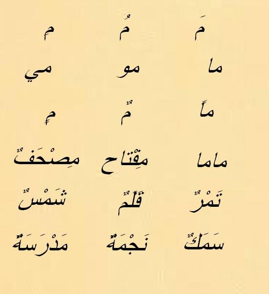 Vocabulaire arabe Uoooo10