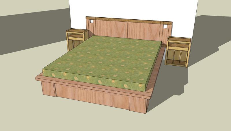 [Réalisation] Un lit style futon à la Domino 00210