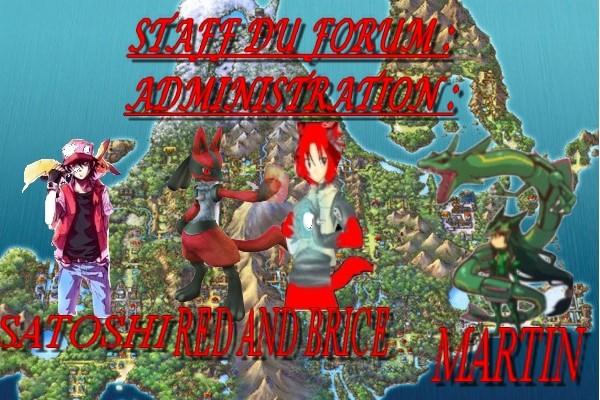 Pokémon Horizon - Portail Equipe11