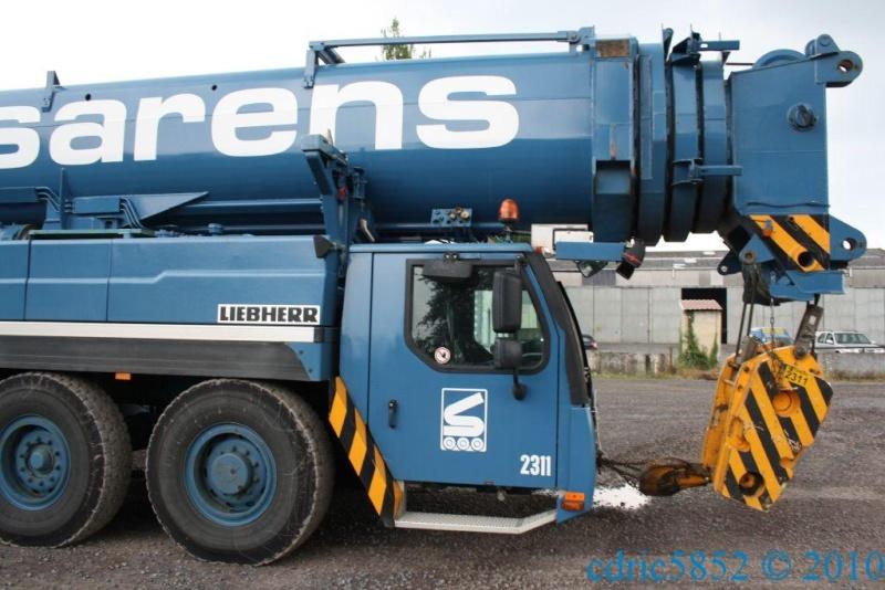 LTM 1400 7.1 Sarens de retour du Trait Img_0411