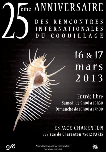 2013 Bourse internationale de Paris - 16 & 17 mars Affich12