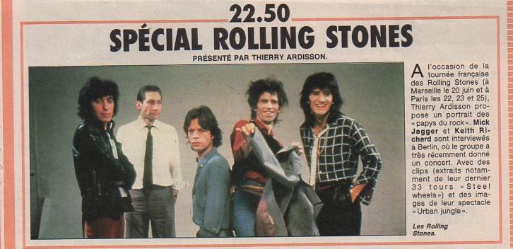 Les Rolling Stones dans la presse française - Page 2 Img79710