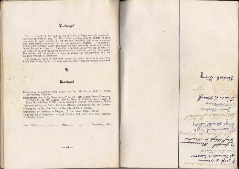 historique de la division Bookle36
