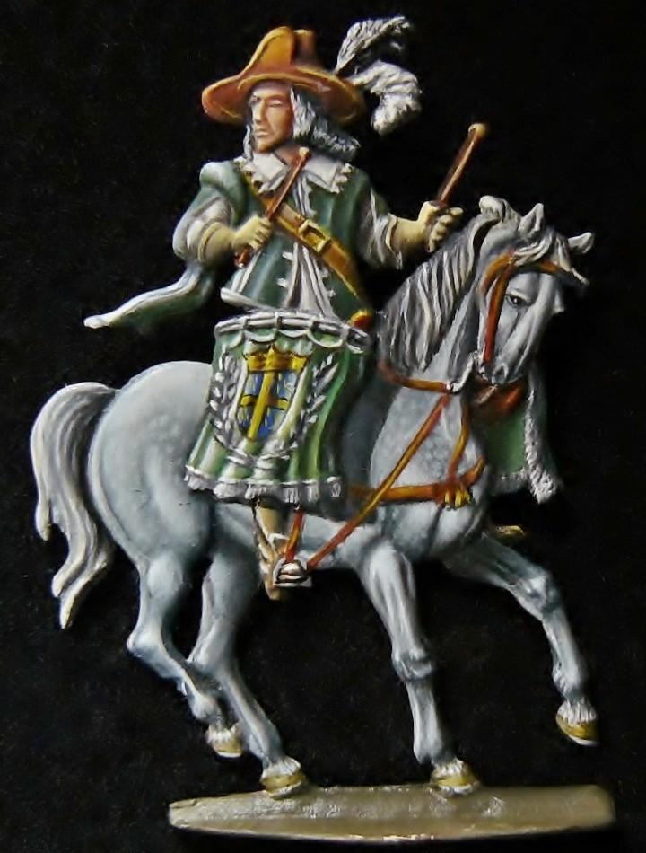 Timballier du régiment De Praslin en 1640 d'après Hilpert -28mm Ragime12