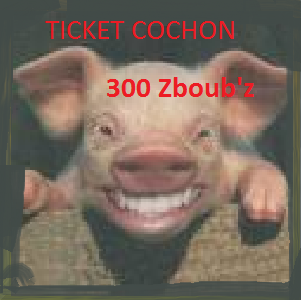 Ticket Cochon Co310