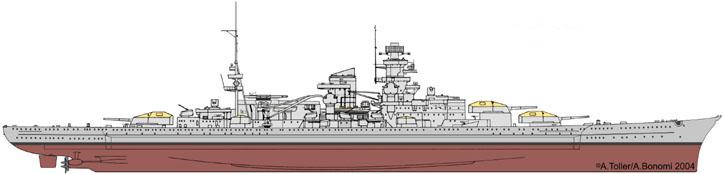 DKM Scharnhorst de  Dragon 1/350° - Page 3 Paint_10