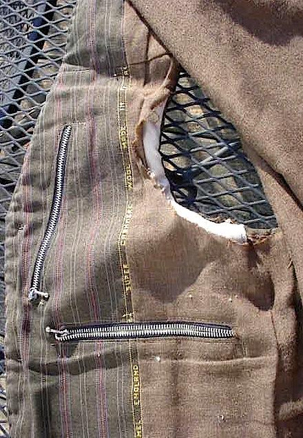 Afghanistan Captured - Veteran Bring Back Taliban Improvised Vest Mvc-0083