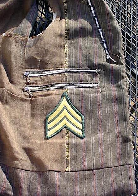 Afghanistan Captured - Veteran Bring Back Taliban Improvised Vest Mvc-0084