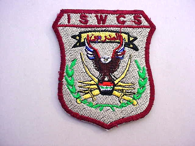Iraq Special Operation Forces ISWCS Patch Mvc-0131