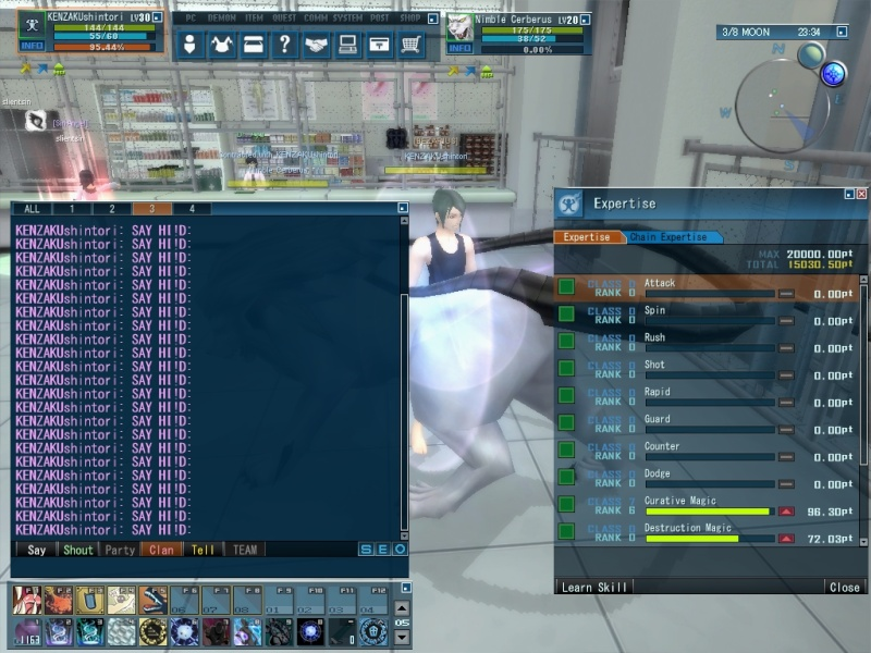 I can spam on clan chat whenever i want :D 20110110