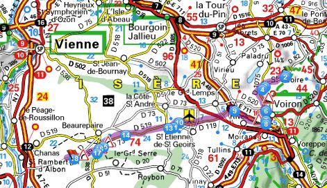 PLAN D'ACCES à Saint Sorlin en Valloire Acces_11