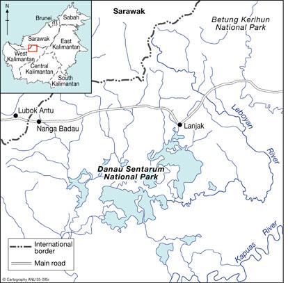 PARC NATIONAL DU LAC Sentarum (Kalimantan  île de Bornéo) Figure11