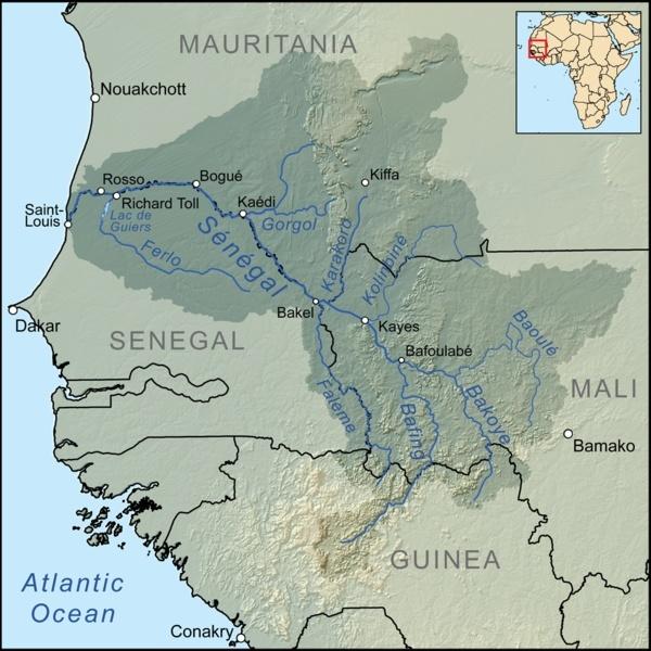 River Senegal (Afrique de l'Ouest) Filese10