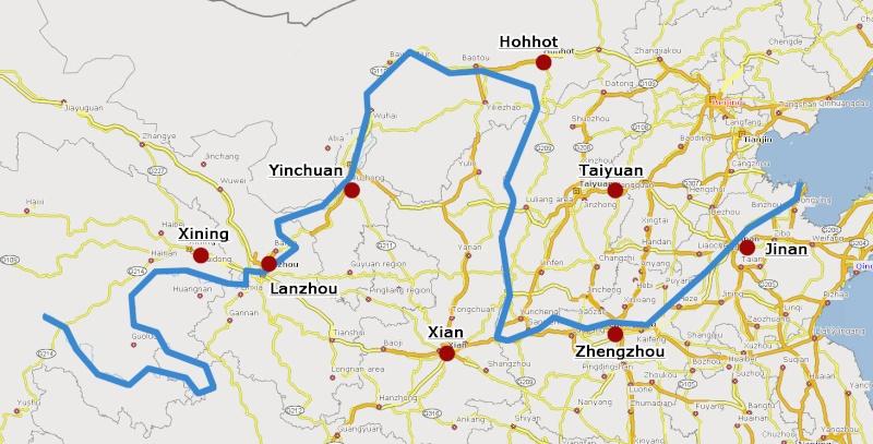 Yellow River (Chine) Huangh10