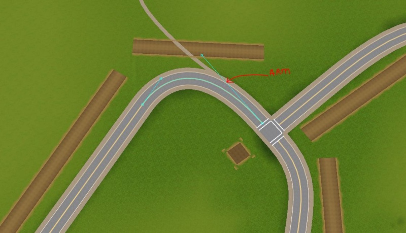 Tutorial: Replacing Existing Roads in Caw Rd110