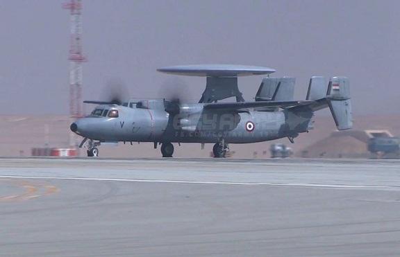 طائرات الحرب الانذار المبكر E-2C المصرية 16143810