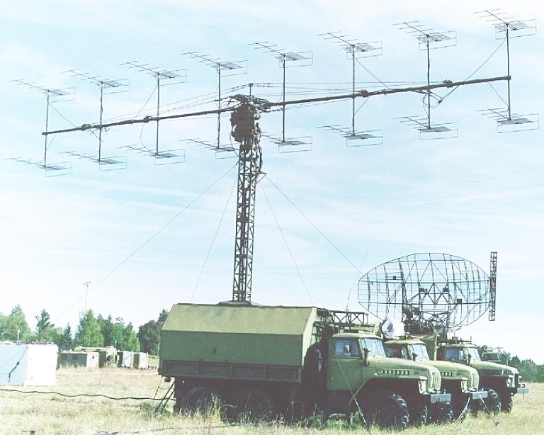 الرادارت الروسيه فئه X-band / VHF-Band / L-Band / UHF Band / S-Band  P-18-s10