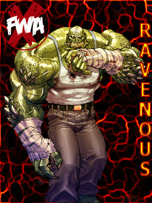 """ the monster""ravenous Xfwa-c16"