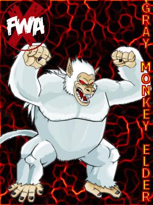 Gray Monkey Elder Xfwa-c25