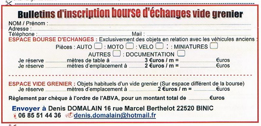 Bourse Echanges - Vide Grenier le 4 Novembre 2012 Bourse10