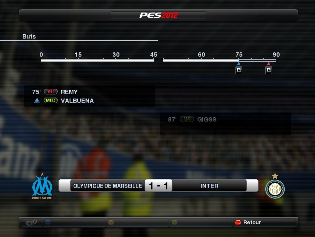 Olympique De Marseille Vs Inter Milan Om_int11