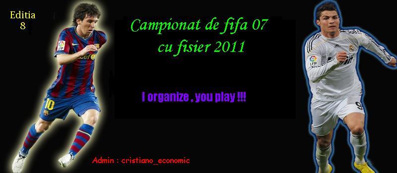 Campionat de FIFA 07 cu patch de 2011