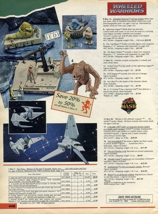 SW ADVERTISING FROM COMICS & MAGAZINES - Page 4 16733511